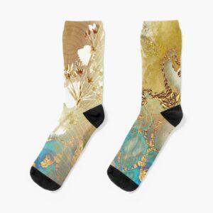 marblegold socks