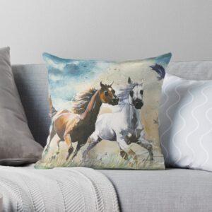 wild horse kissen